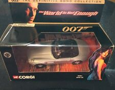 """James Bond (Pierce Brosnan) """"The World Is pas assez"""" Corgi CC5001 BMW Z8"""