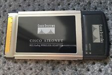 Cisco Aironet 802.11a/b/g Wireless CardBus Adapter