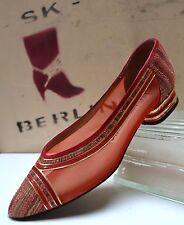 ACCADEMIA Damen Ballerina Pumps True Vintage Sommer Schuhe Loafer flach Slipper