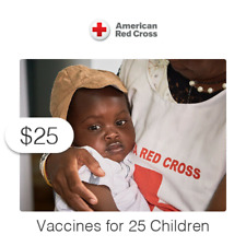 $25 Charitable Donation For: Vaccines for 25 Children