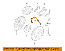 GM OEM Rear Brake-Hydraulic Flex Hose 25906096