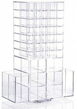 Lifewit Spinning Lipstick Tower Rotating Brush Holder Acrylic Makeup Organizer