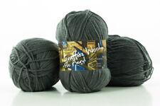 10 x 100g Graffiti Wool Pro Acryl Strickgarn 100% Polyacryl -anthrazit- by Anune