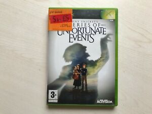 Lemony Snicket's A Series of Unfortunate Events (Xbox) Game UK PAL USED