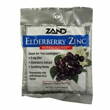 Herbalozenge Elderberry Zinc 15 Lozenges  by Zand