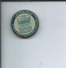 AA-016 - Mentholatum Sample Tin Advertising Pocket Tin Vintage