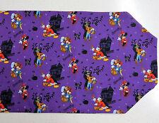 Disney Purple Halloween Table Runner New Mickey Goofy Donald Minnie Costumes