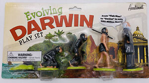 Evolving Darwin Play Set Sealed Evolution NEW Accoutrements 5 Fun Figures