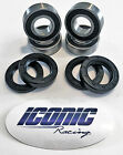 00-06 Honda Rancher TRX350TM TRX350TE 2x4 BOTH Front Wheel Bearing & Seal Kits