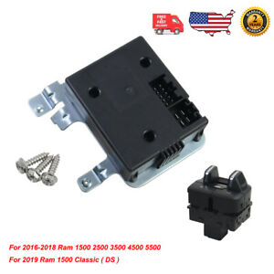For 2016-2019 RAM 1500(DS Classic) 2500 3500 Integrated Trailer Brake Controller