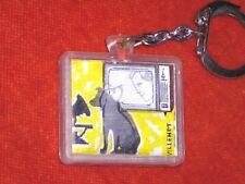 Porte-clés key ring VISIOMATIC Pathe Marconi graphiste Villemot animated dog