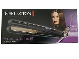 New Boxed REMINGTON Worldwide Voltage Sleek & Smooth Slim Straightener 230oC