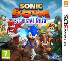 Nintendo 3DS Sonic boom el cristal roto
