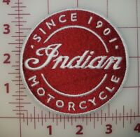 Indian Motorcyce Vest Pinback Brass Finish Solid Metal Gorgeous Hells Angels vg