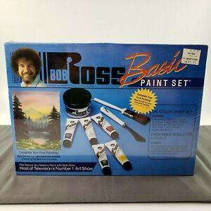 VTG Bob Ross Basic Paint Set Oil Color Kit Joy Of Painting R6505 NEW SEALED MINT