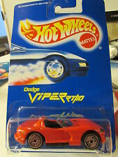 Hot Wheels Dodge Viper RT/10 #210 All Blue Card Red