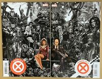 House Of X #1 & Powers Of X #1 Brooks CONNECTING COVERS 5th Print Variant GEMINI