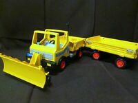 CAMION ENTRETIEN de la ROUTE Jouet Toy Truck PLAYMOBIL CHANTIER 3454 rare !