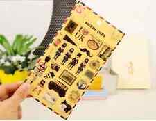 1 sheet PVC London UK Travel Theme Sticker - Decor DIY Album Journal Traveler