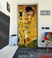 Adesivo per porte 3D adesivi porta decorazione allestimento interni SENZA BOLLE
