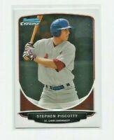 STEPHEN PISCOTTY (St. Louis Cardinals) 2013 BOWMAN CHROME PROSPECTS CARD #BCP52