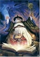 SPELL FOR A DRAGON ~ 22x34 FANTASY ART POSTER NEW/ROLLED!