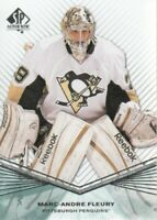 2011-12 SP Authentic Hockey #79 Marc-Andre Fleury Pittsburgh Penguins