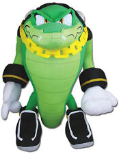 "NEW Vector the Crocodile 14"" Stuffed Plush Toy - GE52633 - Sonic the Hedgehog"