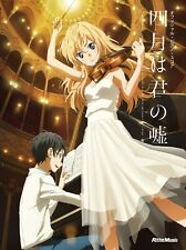 Your Lie In April Official Piano Score Japan Music Solo Book Anime Sheet MANGA