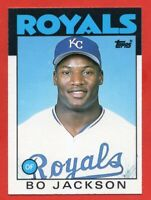 1986 Topps Traded #50T Bo Jackson Rookie RC NEAR MINT/MINT Kansas City Royals