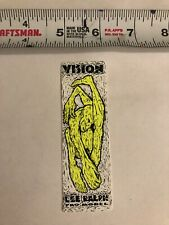 New listing tom grohilski vision sticker. 80's vintage nice condition OG
