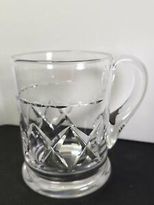 Stuart Crystal Tankard Cut Glass