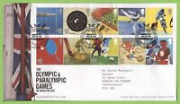 G.B. 2010 Olympics set on Royal Mail First Day Cover, Tallents House