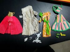 Dawn/Pippa doll Clothes shoes hangers from Uk originally Pallitoy used vintage