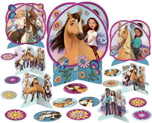 Spirit Riding Free Table Decorating Kit 27pc ~ Girls Birthday Party Supplies