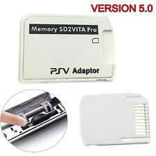 Version 5.0 SD2VITA PSVITA Micro SD Memory Card Adapter for PS Vita Henkaku 3.60