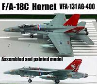 Easy model F/A-18C F-18C Hornet VFA-131 AG-400 aircraft 1/72 no diecast plane