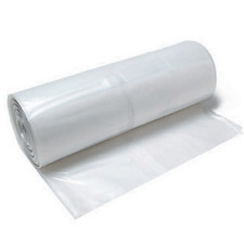 Clear Plastic Poly Sheeting 12' x 100' 4 mil VISQUEEN