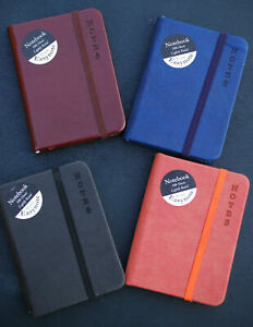 Tallon Easynote Slim/A5 Soft Touch Notebook - Rustic - 4 Assorted Colours