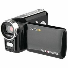 Bell & Howell DV200HD HD Video Camera Camcorder with Built-in Video Light