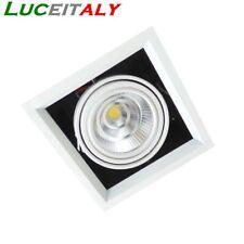 Faretto LED incasso cartongesso 20W 20Watt Ar111 Faro luce bianca 220V lampada