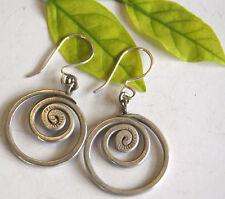 Beautiful Earrings Pure Silver Karen Hill tribe