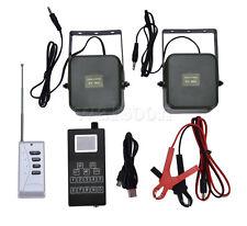 Remote Hunting Bird Caller Dual 50W 150dB Loud Speaker Desert Machine Timer