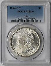 1884-CC Morgan Dollar $1 MS 63+ Plus PCGS GSA Pedigree