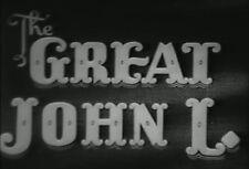 THE GREAT JOHN L (1945) DVD LINDA DARNELL, BARBARA BRITTON