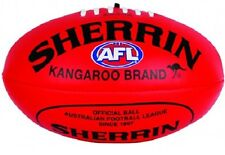 SHERRIN AFL Soft Touch Youth Red Football VFL Ball