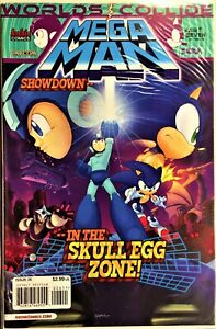 MEGA MAN COMIC BOOK #26 WORLDS COLLIDE 7 of 12 August 2013 Bagged Boarded VF+