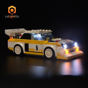 LED Light kit For 1985 Audi Sport quattro S1 Speed Champions 76897 lighting set