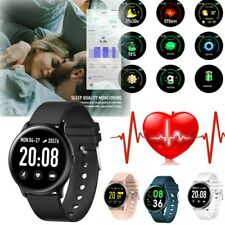 Waterproof Sport Smart Watch Blood Pressure Heart Rate Monitor For Android iOS