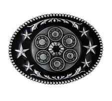 Montana Silversmiths Six Shooter Star Attitude Buckle (A208RTS)